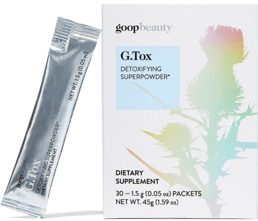 goop Beauty G. Tox detoxifying superpowder