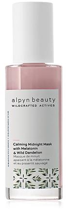 Alpyn Beauty Calming Midnight Mask with Melatonin & Wild Dandelion