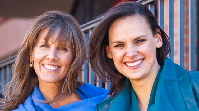 Beth Mobilian and Lindsay Patterson