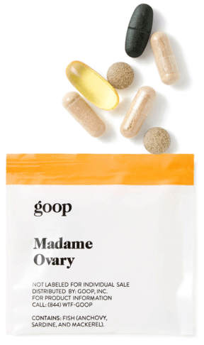 goop Wellness MADAME OVARY packet