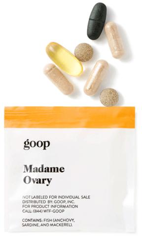 goop Wellness MADAME OVARY packet