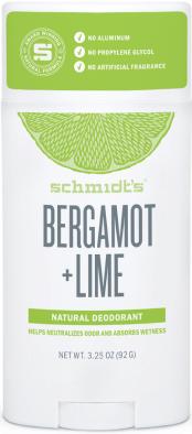 Schmidts BERGAMOT + LIME DEODORANT