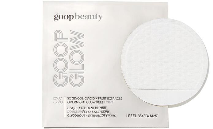 GOOPGLOW 5% GLYCOLIC OVERNIGHT GLOW PEEL light