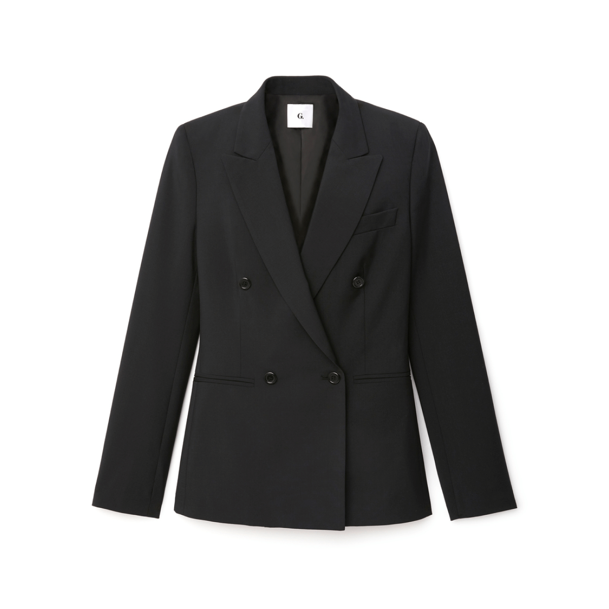 g label jonathan double breasted blazer