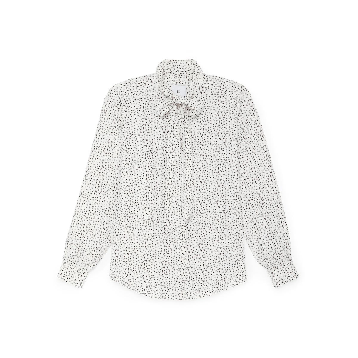 G. Label Barbara tie-neck blouse
