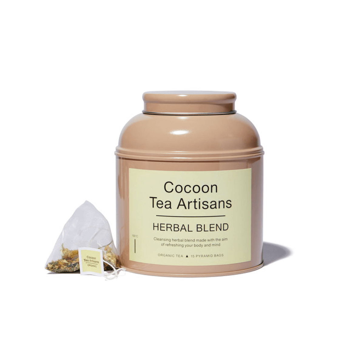 Cocoon Tea Artisans 100%-Organic Herbal Tea