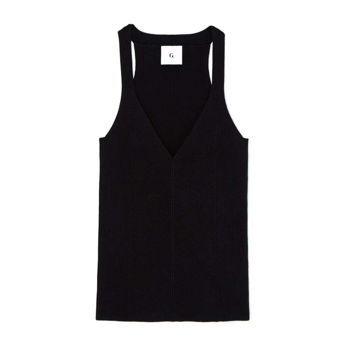 G. Label samantha engineered-rib tank