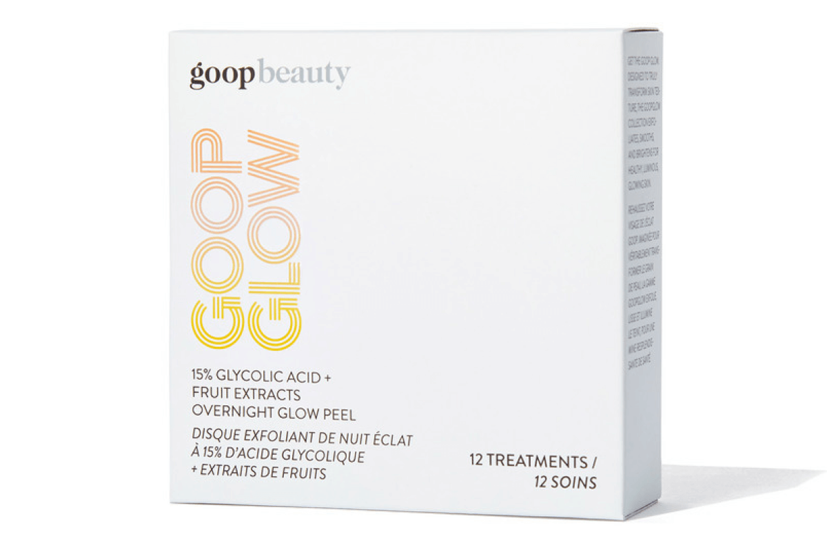 goop Beauty GOOPGLOW 15% Glycolic Overnight Glow Peel