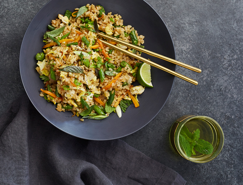 Kitchen-Sink Thai Fried Rice