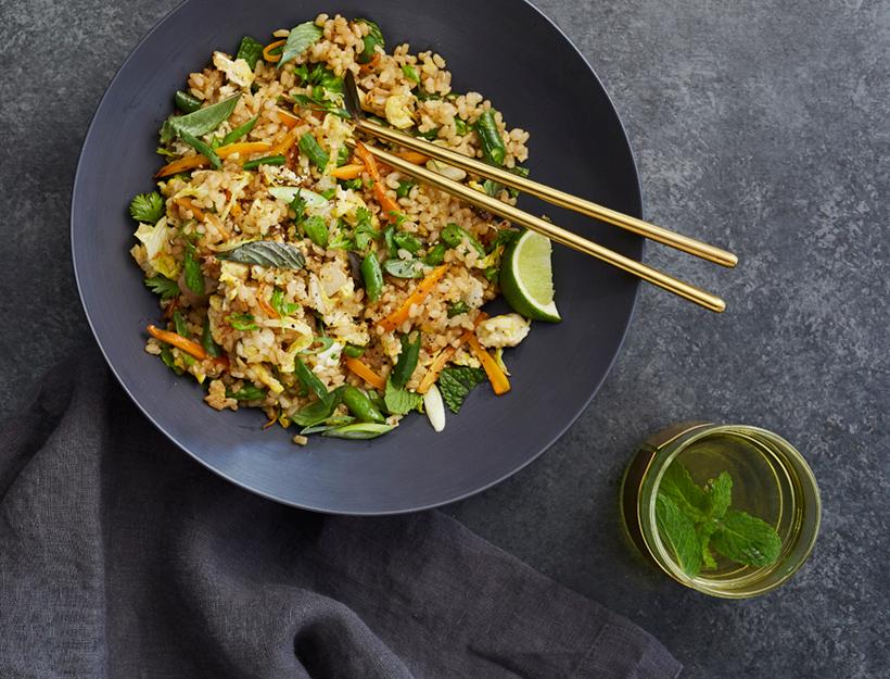 Kitchen-Sink Thai Fried Rice