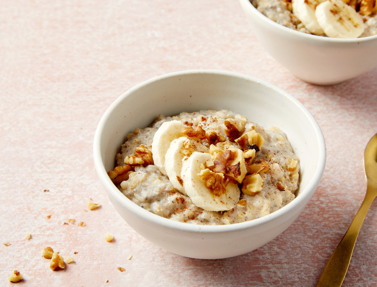 Overnight Sweet Brown Rice Porridge