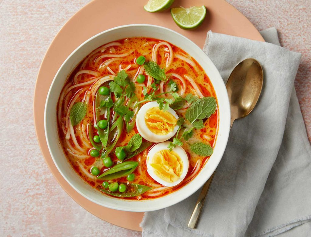 Curry Noodle Soup