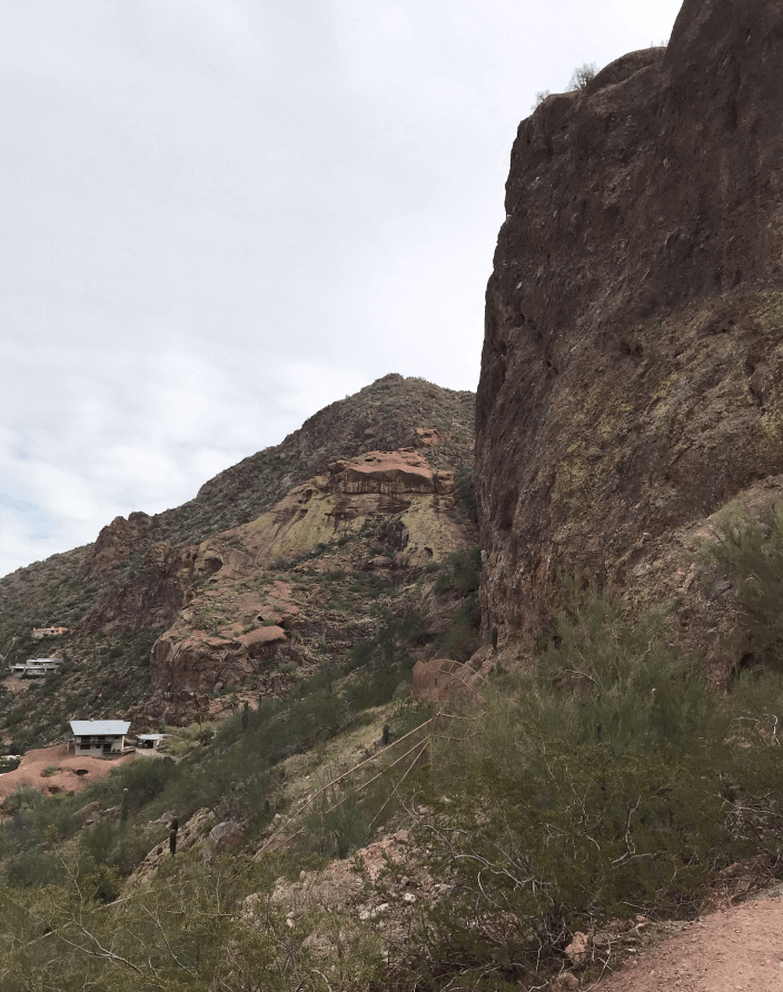Echo Canyon Trail at Camelback Mountain