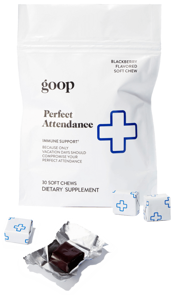 goop Wellness PERFECT ATTENDANCE