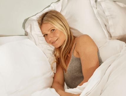 gwyneth in bed