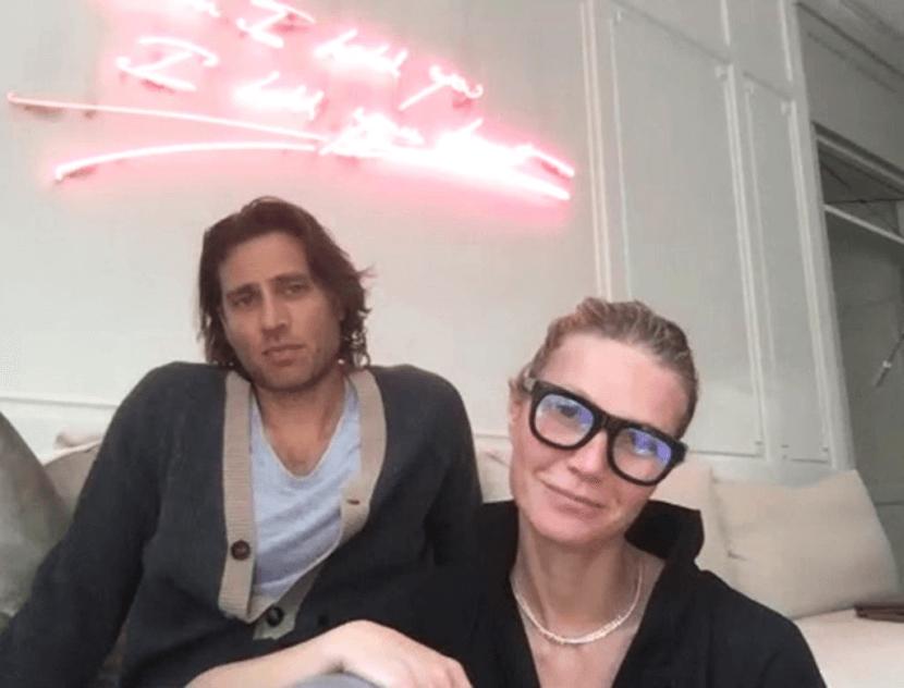 Gwyneth and Brad Falchuk