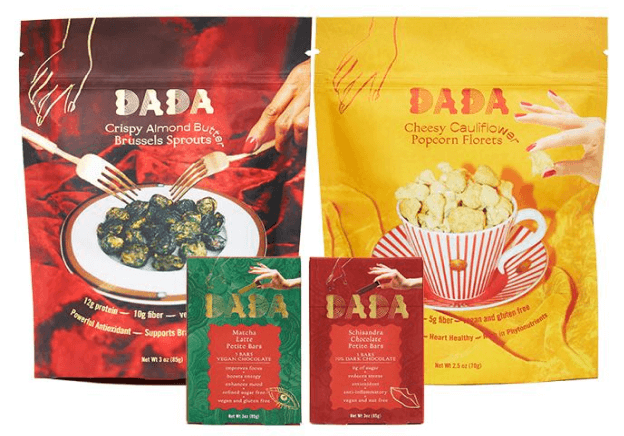 Dada Daily SNACK SAMPLER