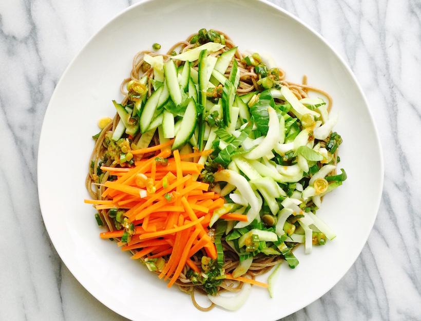 Buckwheat Soba Noodle Salad