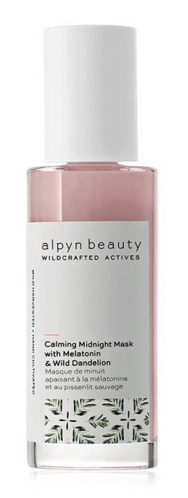 Alpyn Beauty CALMING MIDNIGHT MASK WITH MELATONIN & WILD DANDELION