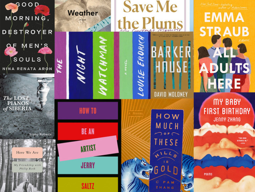 12 New Books Keeping Us Company