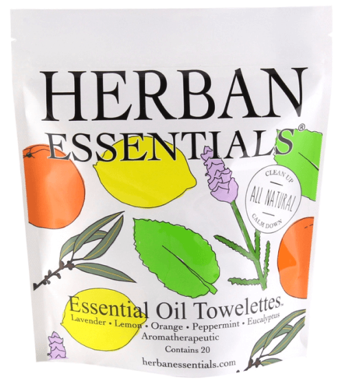 Herban Essentials ESSENTIAL OIL TOWELETTES