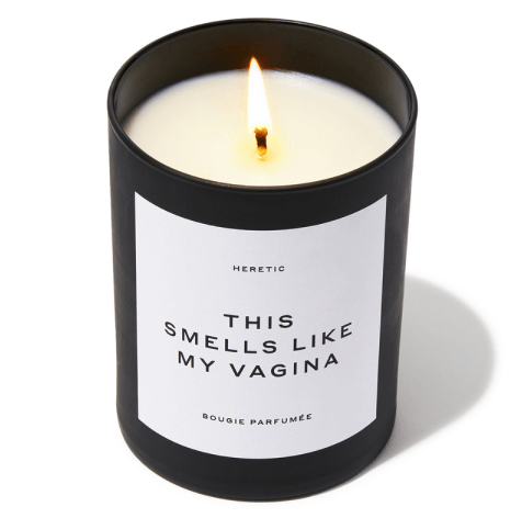 Heretic This Smells Like My Vagina Candle