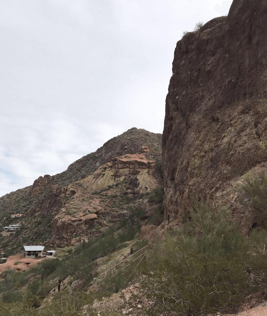 Echo Canyon Trail at Camelback Mountain