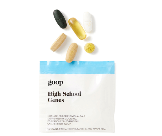 goop wellness High School Genes multivitamin