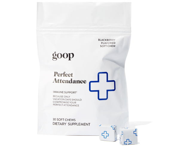 goop perfect attendance immune support chews
