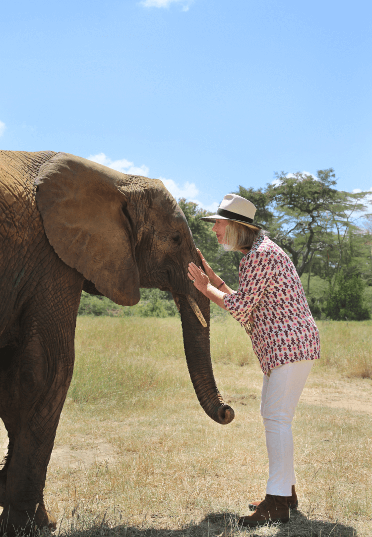 Chantecaille with Elephant