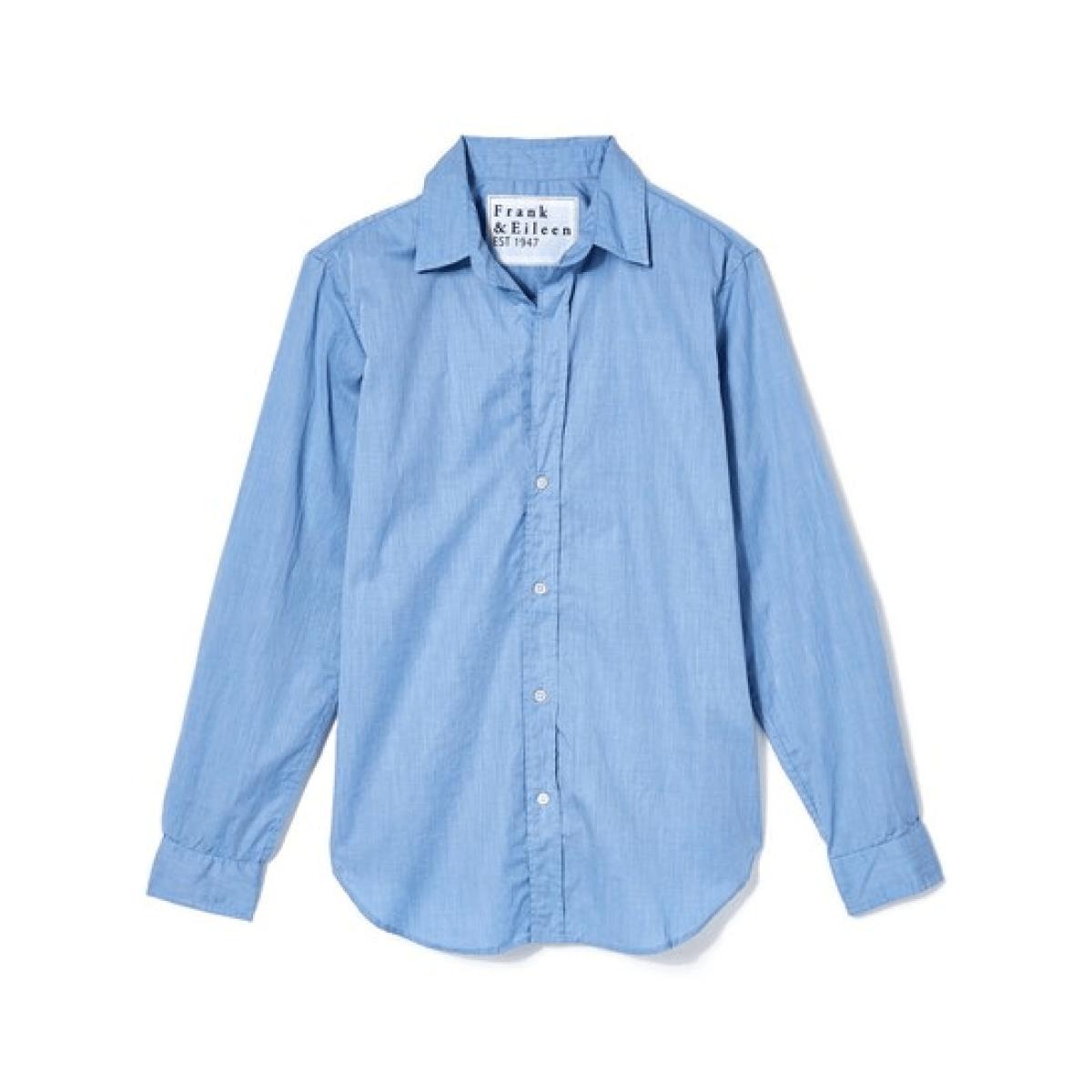Frank & Eileen blue button down shirt