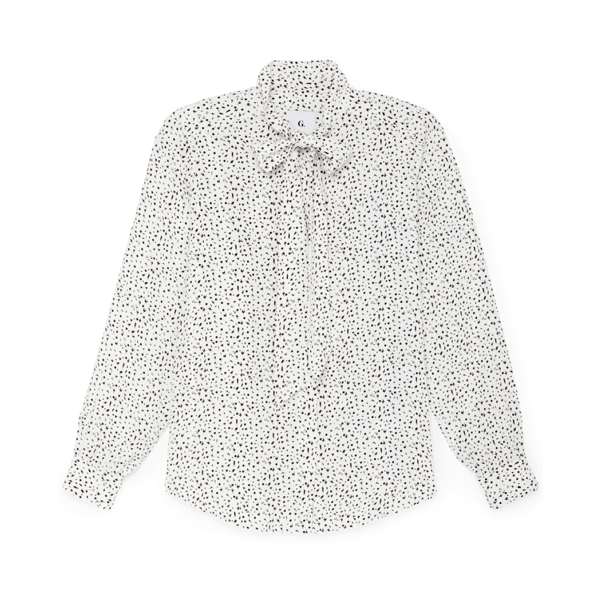 G. Label barbara tie-neck blouse