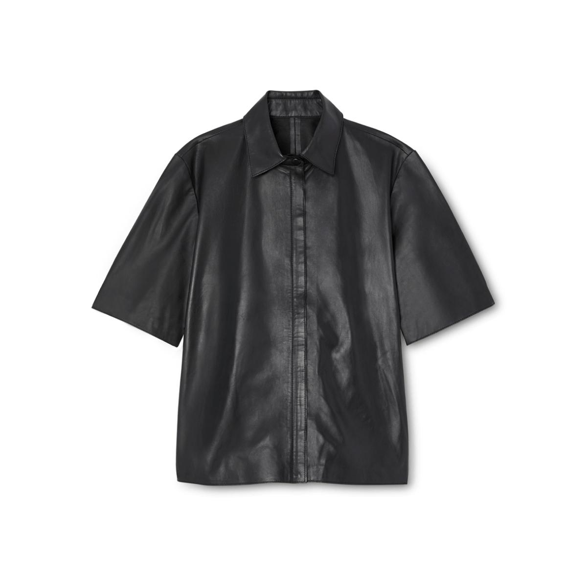 G. Label taylor boy leather shirt