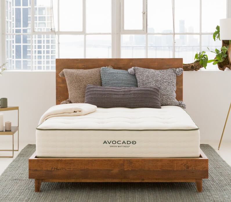 Avocado Green Mattress bed frame