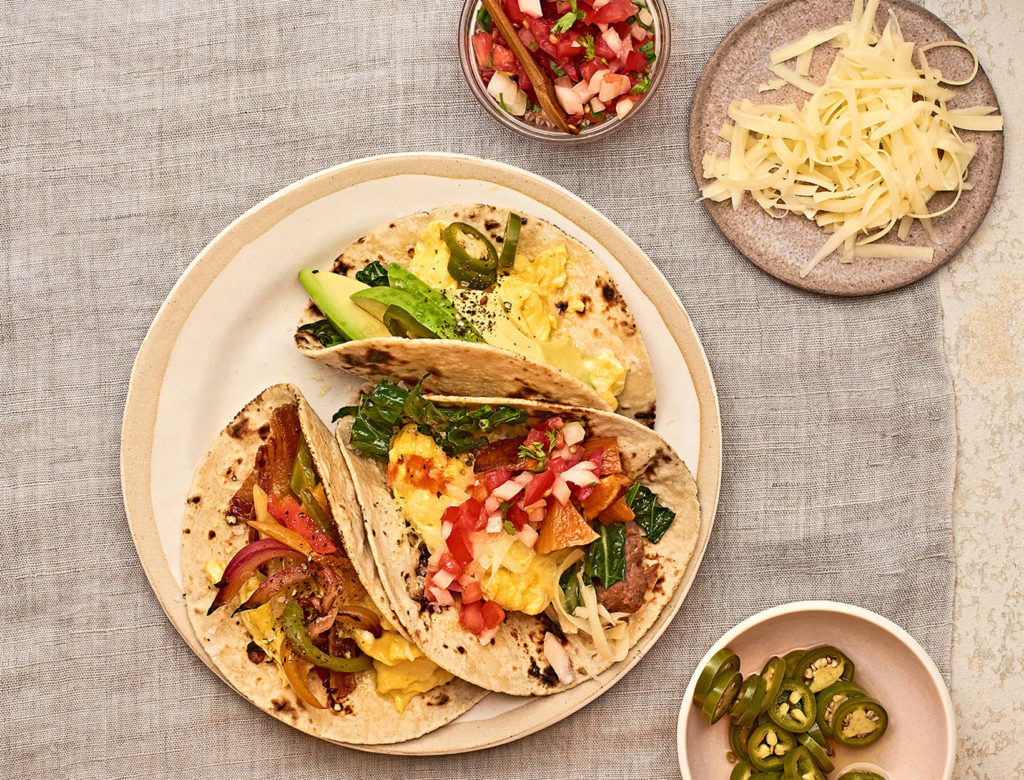 Tex-Mex Breakfast Taco Bar