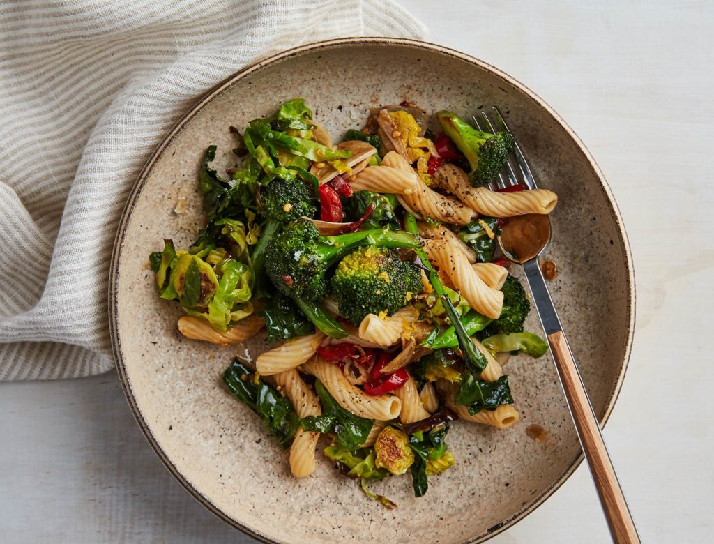 Big Brassica-Energy Pasta