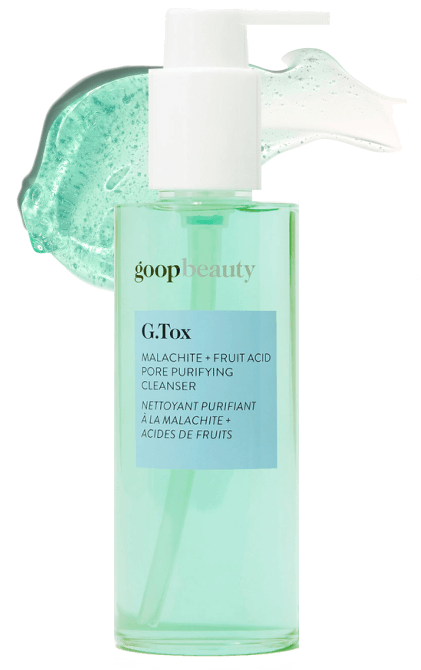 goop Beauty G.Tox Malachite + Fruit Acid Pore Purifying Cleanser