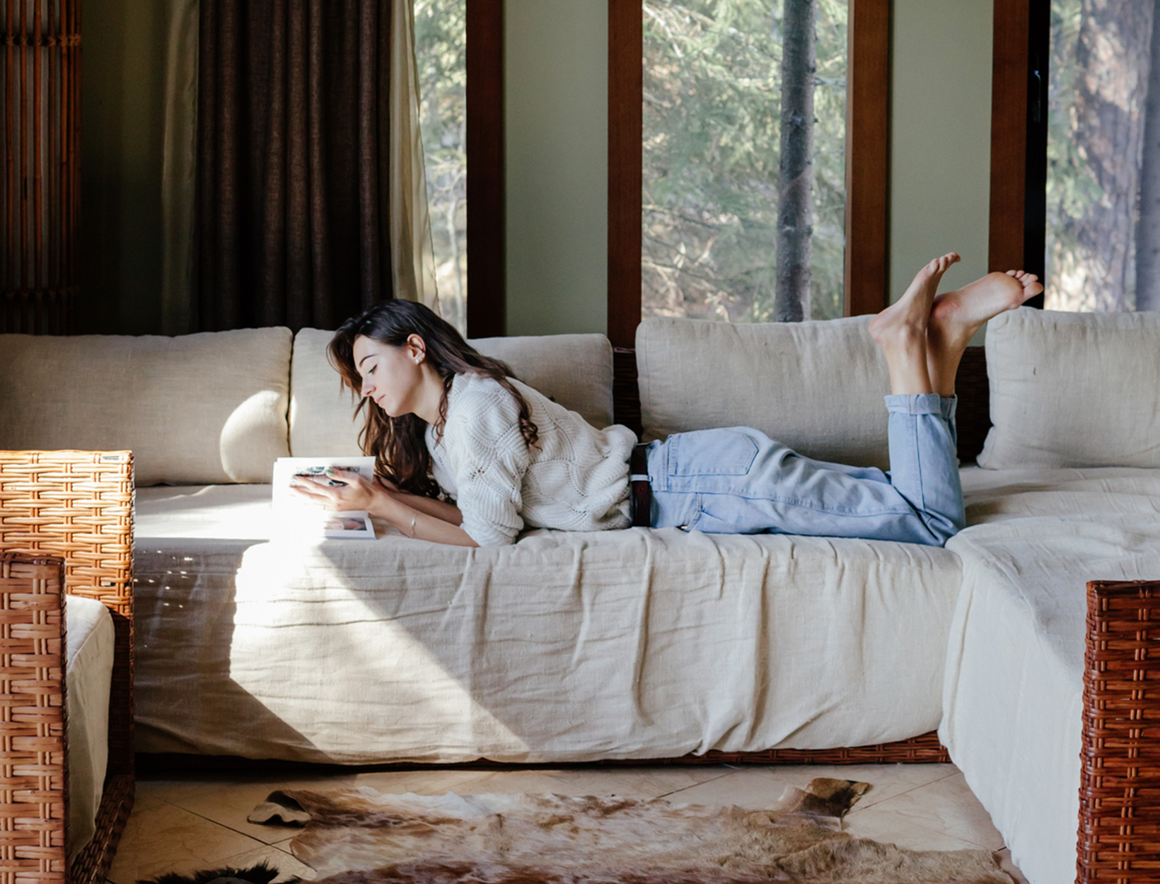 Cozy Concoctions, Virtual Workouts, and Other Sunday Rituals Keeping Us Sane