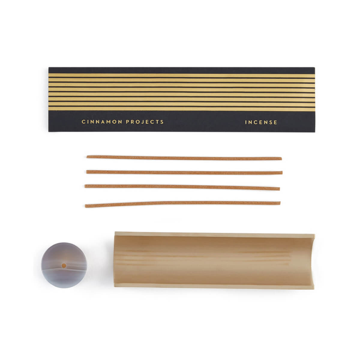 goop x Cinnamon Projects goop Exclusive Agate Burner + Incense Set