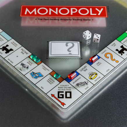Evergreen Home monopoly Glass Edition