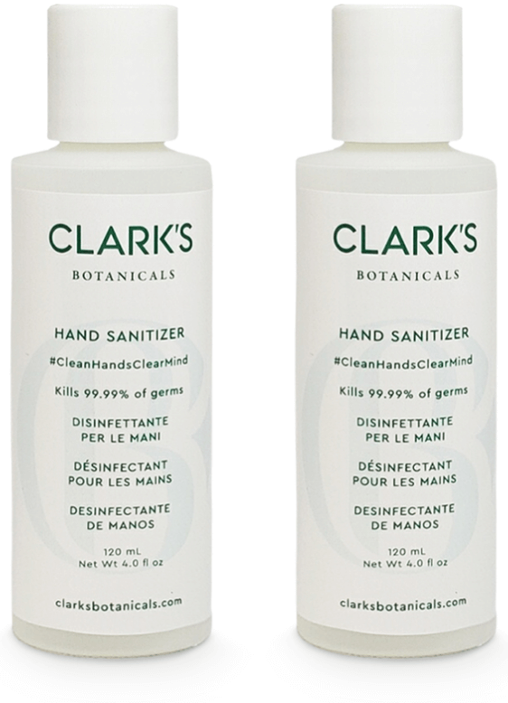 Clark's Botanicals Hand Sanitizer Set