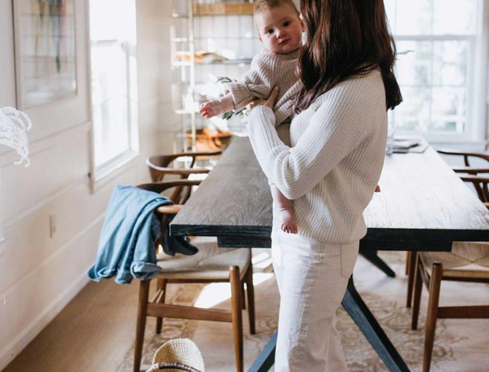 Women in work clothes
