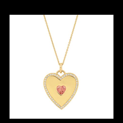 Jennifer Meyer Large Heart Pendant