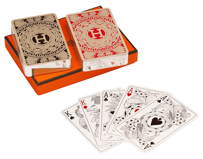 Hermès bridge cards