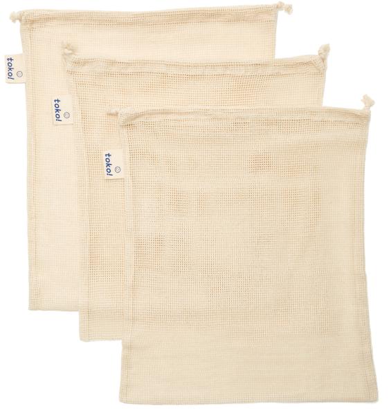 toko! Organic Cotton Drawstring Bags
