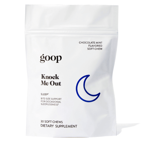 goop Wellness Knock Me Out Chews