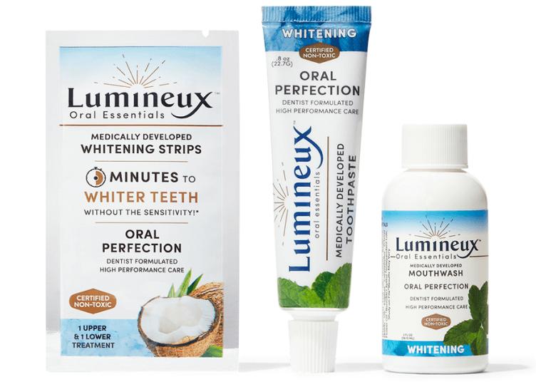 ORAL ESSENTIALS WHITENING LUMINEUX STRIPS