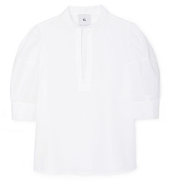 G. Label OZ PUFF-SLEEVE BLOUSE