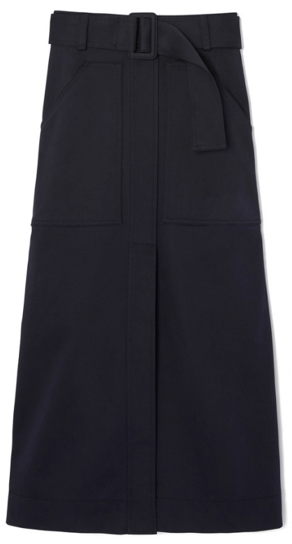 G. LABEL DANIELSON MIDI SKIRT