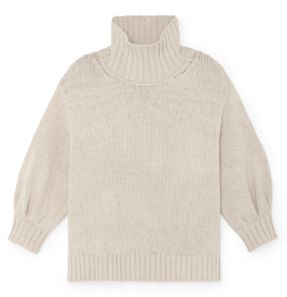 G. Label             evangelyn puff-sleeve sweater